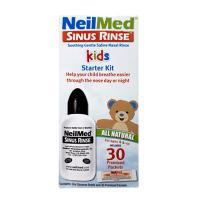 Bình rửa mũi NeilMed Kids Starter Kit 30 gói cho trẻ em của Mỹ