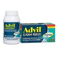 Thuốc giảm đau hạ sốt Advil Liqui Gel Minis 200mg 160 viên