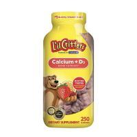 Kẹo dẻo cho bé L'il Critters Calcium + D3 mẫu mới 250 viên