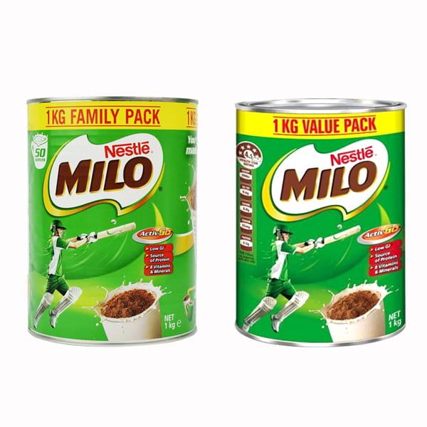 Sữa Nestle Milo Hộp 1kg Của Úc mẫu mới Cho Cả Bé Và Gia Đình