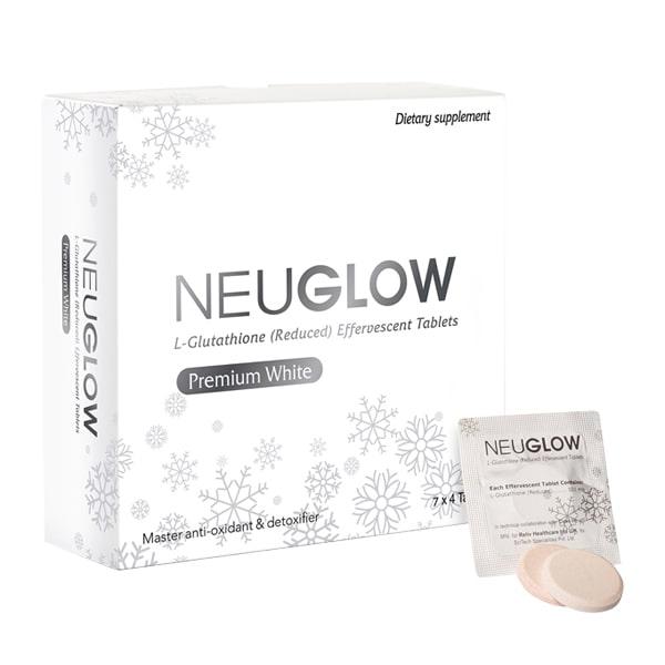 Viên sủi trắng da Neuglow L-Glutathione Premium White 28