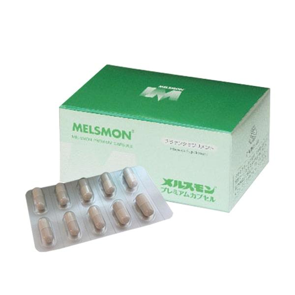 Viên uống nhau thai Melsmon Premium Capsule Nhật 120 viên