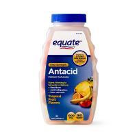 Viên nhai hỗ trợ dạ dày Equate Ultra Strength Anta...