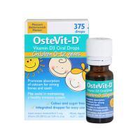 Vitamin D dạng nhỏ giọt Ostevit-D vitamin D3 Oral Drops 0-12 tuổi