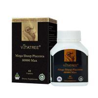 Viên nhau thai cừu Vitatree Mega Sheep Placenta 80000 Max 60 viên