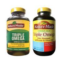 Omega 3 6 9 Nature Made Của Mỹ - Triple Omega Hộp 180 Viên