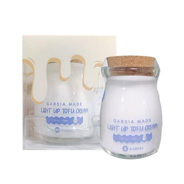 Kem dưỡng trắng da Garsia Made Light Up Tofu Cream 80g