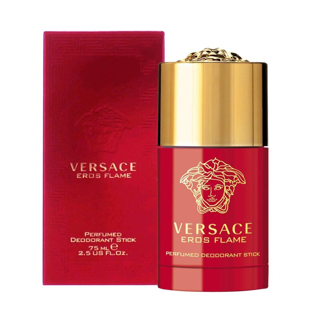 Lăn khử mùi nước hoa nam Versace Eros Flame 75ml màu đỏ