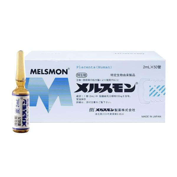 Tế bào gốc nhau thai người Melsmon Placenta Nhật 50 ống x 2ml