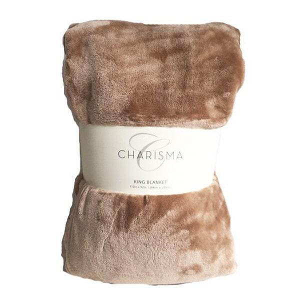 Chăn lông cừu Charisma King Blanket 284cm x 233cm cao cấp