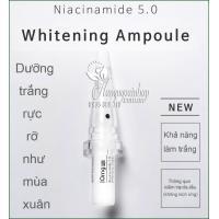 Serum kích trắng da Niacinamide 5.0 Whitening Ampoule 10 x 2ml