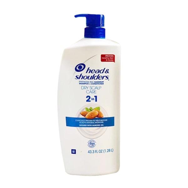 Dầu gội trị gàu Head & Shoulders Dry Scalp Care 2 in 1 (1,28l)
