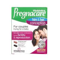 Viên uống tăng khả năng thụ thai Pregnacare Him & Her 60v