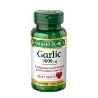Tinh dầu tỏi Garlic 2000mg Nature's Bounty 120 viê...