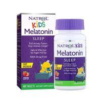 Viên ngậm ngủ ngon cho bé Natrol Kids Melatonin Sleep