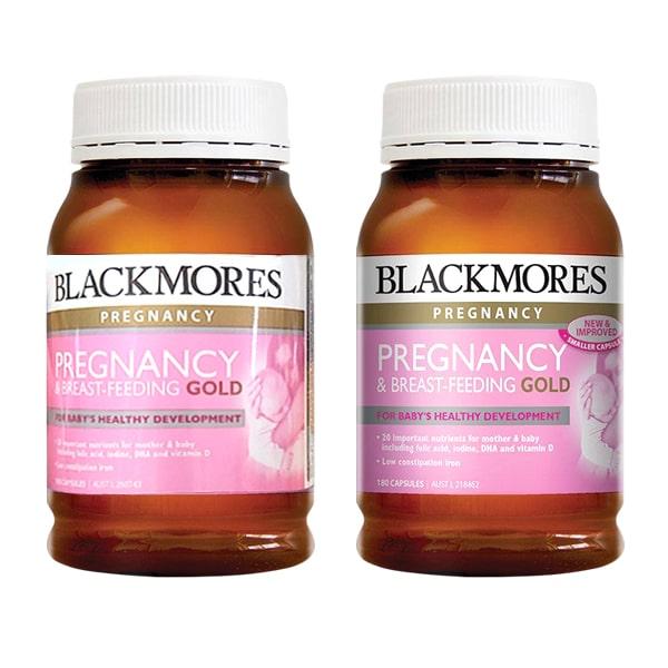 Vitamin cho bà bầu Blackmores Pregnancy Gold 180 viên của Úc