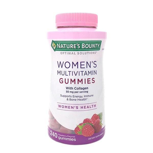 Kẹo dẻo vitamin cho phụ nữ Nature's Bounty Women's Mỹ