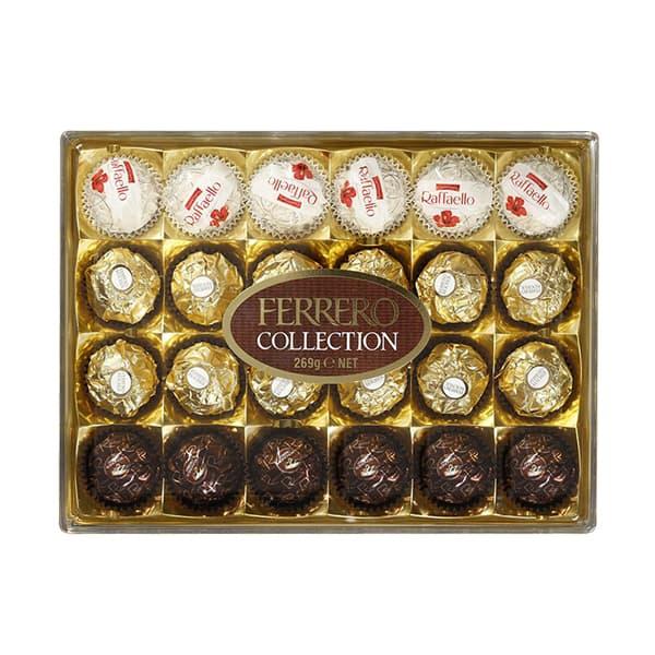 Socola Ferrero Collection 24 viên 269g của Ý