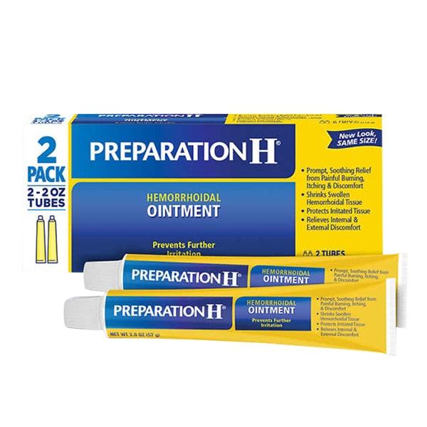 Kem trị trĩ Preparation H Ointment 57g x 2 của Mỹ, giá tốt