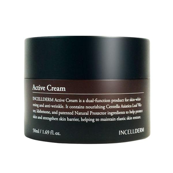 Kem dưỡng trắng căng bóng da Incellderm Active Cream 50ml