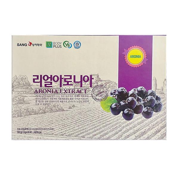 Nước ép đẹp da Aronia SangA Hàn Quốc hộp 30 gói