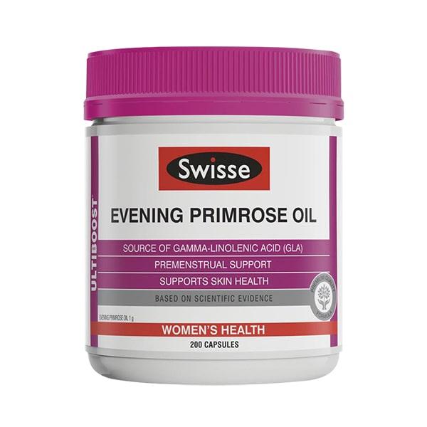 Tinh dầu hoa anh thảo Swisse Evening Primrose Oil Úc