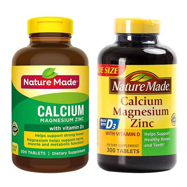Viên Calcium With Vitamin D Nature Made 300 Viên Của Mỹ