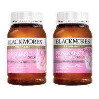Vitamin cho bà bầu Blackmores Pregnancy Gold 180 v...