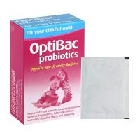 Men vi sinh cho trẻ em Optibac Probiotics hồng của Anh Quốc