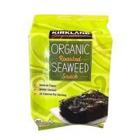 Rong biển sấy khô ăn liền Kirkland Organic Seaweed 17g