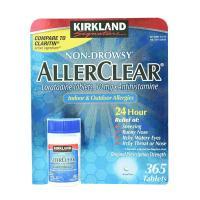 Viên chống dị ứng Kirkland AllerClear 365 viên Mỹ