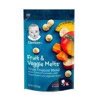 Sữa chua khô Gerber Fruit & Veggie Melts 28g của Mỹ, giá tốt