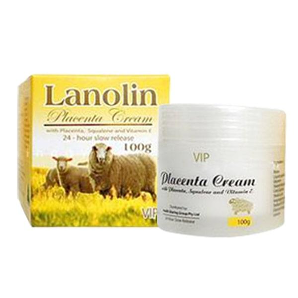 Kem Nhau Thai Cừu Vip Placentra Cream 100g Úc