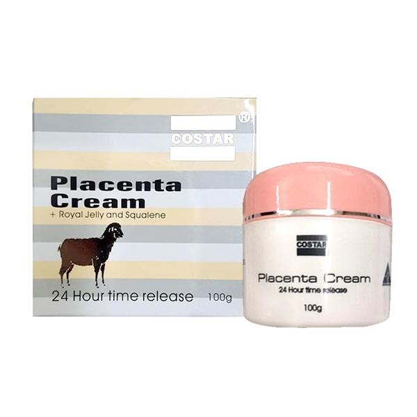 Kem Nhau Thai Cừu Vitamine E Lanolin Placenta Cream Costar 100g Úc