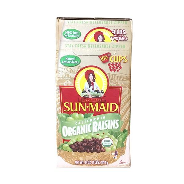 Nho khô hữu cơ Sun Maid Organic Raisins 907g x 2 của Mỹ