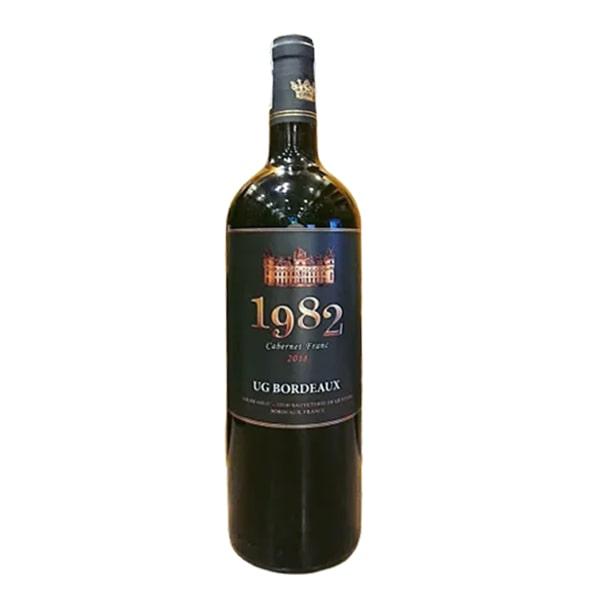 Rượu vang 1982 Cabernet Franc 750ml xách tay Pháp