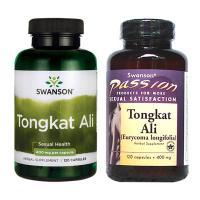 Tongkat Ali Malaysia Swanson Passion 400mg 120 viê...
