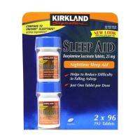 Viên uống hỗ trợ giấc ngủ Kirkland Sleep Aid 25mg 192 viên