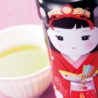 Trà xanh gạo lứt búp bê Maiko 50g Nhật Bản thơm ngon