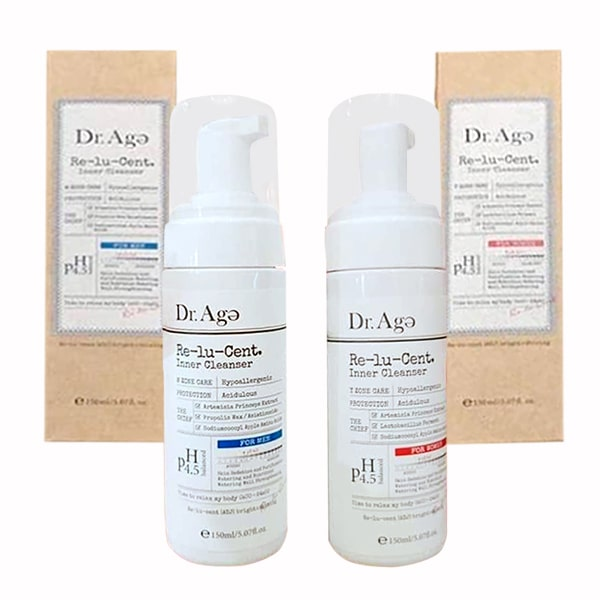 Dung dịch vệ sinh Dr Age Re-Lu-Cent Inner Cleanser Hàn Quốc