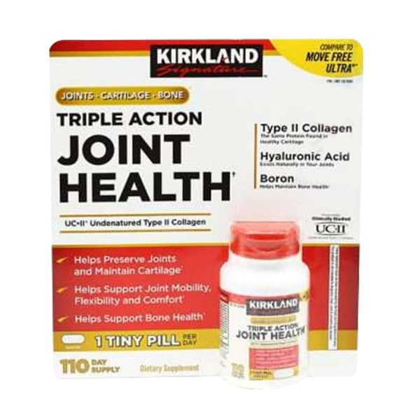 Viên bổ xương khớp Kirkland Triple Action Joint Health 110v