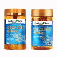 Dầu gan cá mập Healthy Care Squalene 1000mg Úc 200 viên