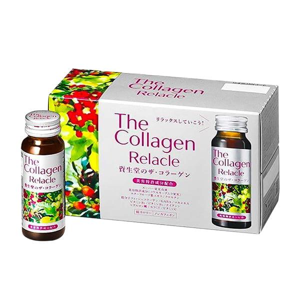 The Collagen Relacle dạng nước Shiseido 10 chai Nhật Bản