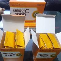 Viên bổ sung Vitamin C 1000mg nội địa Hàn Quốc dạng vỉ