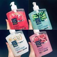 Nước rửa tay Aqua Vera Liquid Hand Wash 500ml hoa hồng