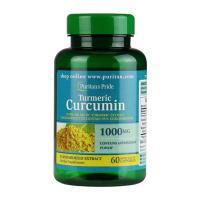 Viên tinh chất nghệ Turmeric Curcumin 1000mg hộp 60 viên