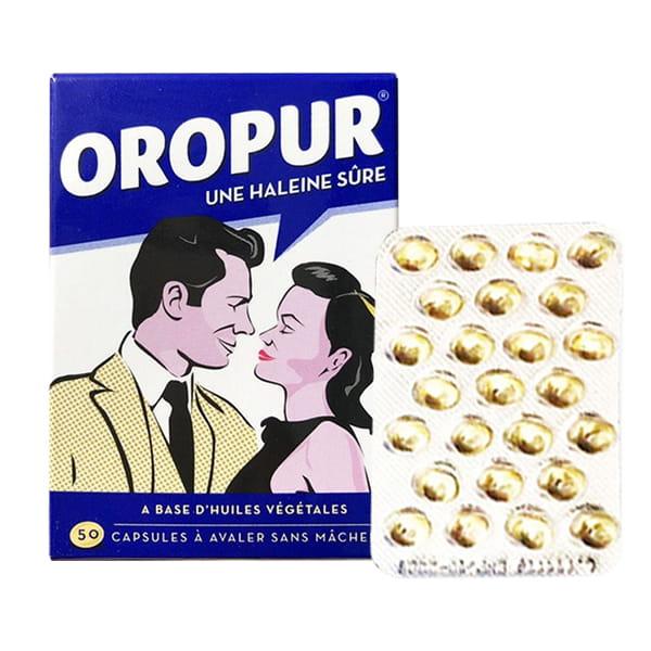 Viên uống thơm miệng Oropur số 1 của Pháp, đặc trị hôi miệng