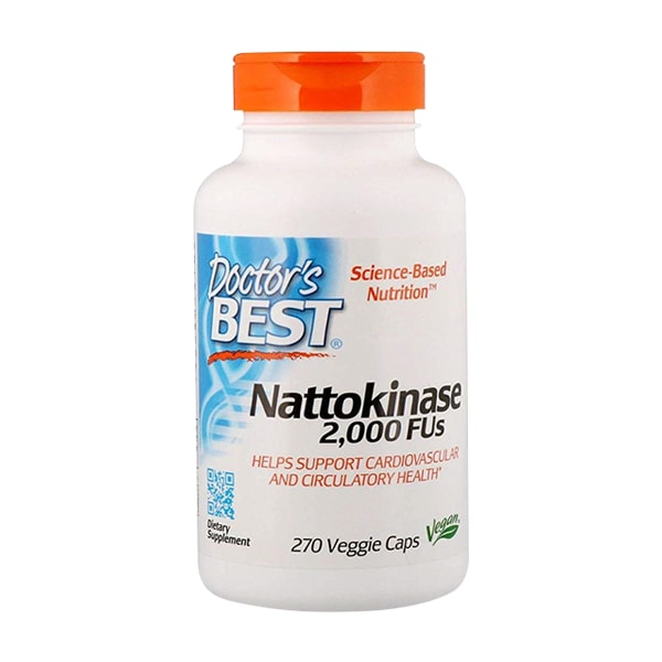 Viên uống Nattokinase 2000FUs Doctor's Best của Mỹ