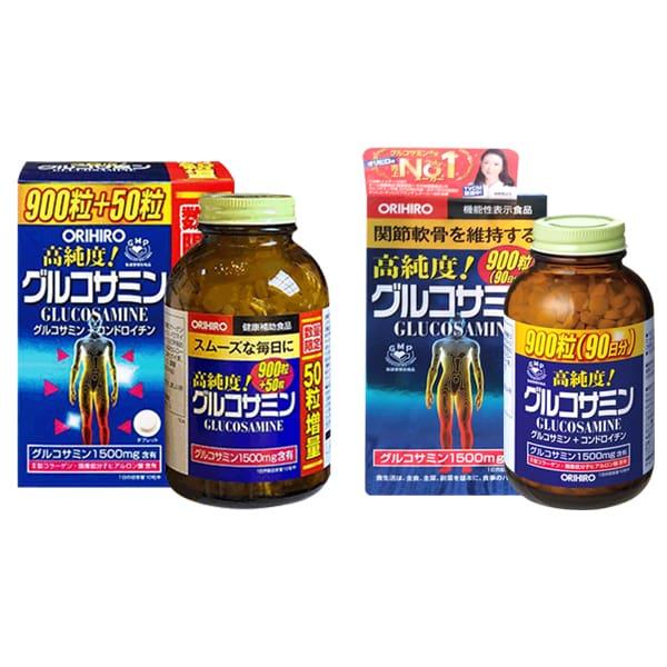 Thuốc Đau Khớp Orihiro Glucosamine 950 Viên mẫu mới