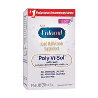 Siro Enfamil Liquid Multivitamin Poly-Vi-Sol With Iron 50ml